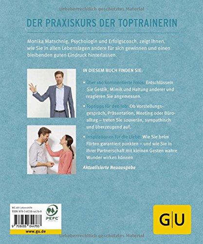 Körpersprache: Gestik, Mimik & Haltung: Sicher auftreten, Menschen gewinnen (GU Ratgeber Gesundheit) - 2